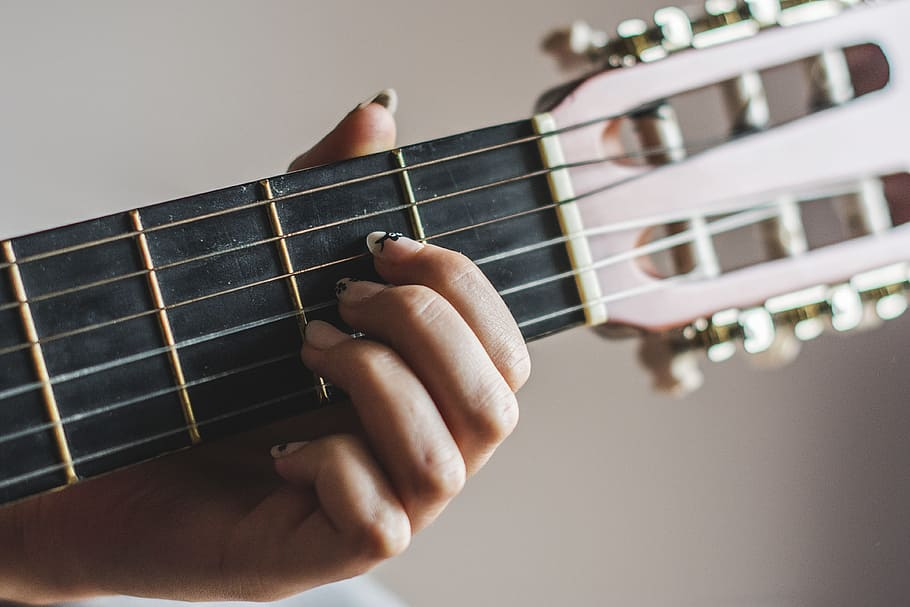 A chord hand fingering